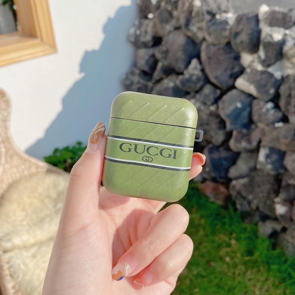 Vỏ Bảo Vệ Hộp Đựng Tai Nghe Airpod Pro In Họa Tiết Gucci Cá Tính