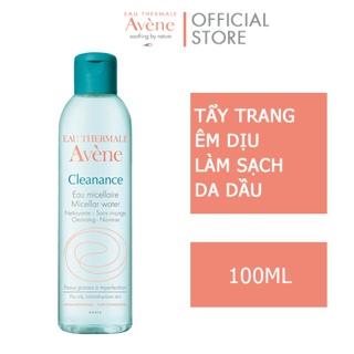 Nước tẩy trang dành cho da nhờn mụn Avene Cleanance Micellar 100ml thumbnail