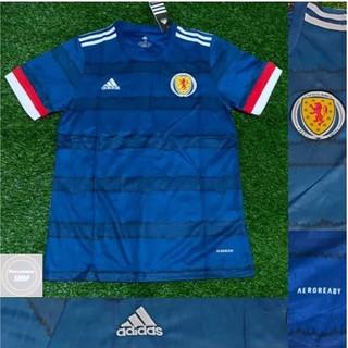 Áo Thun Đá Banh Đội Tuyển Scotland 2020