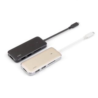 Cáp Jcpal USB Type C Multiport Adapter ( 2 USB 3.0+ HDMI+ USB-C+ Thẻ nhớ )