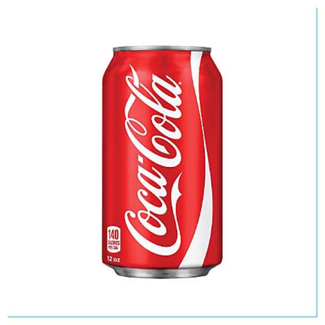 12 lon Coca Cola Classic Mỹ