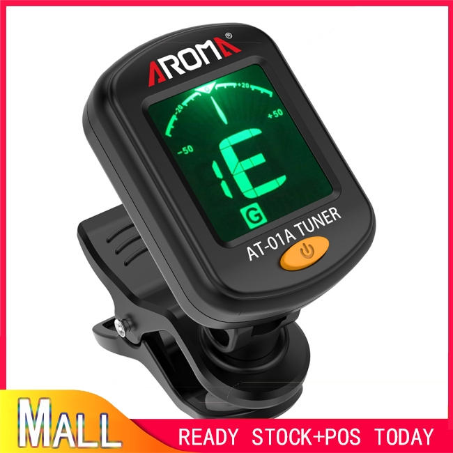 AROMA AT-01A Universal Tuner for Guitar Bass Ukulele