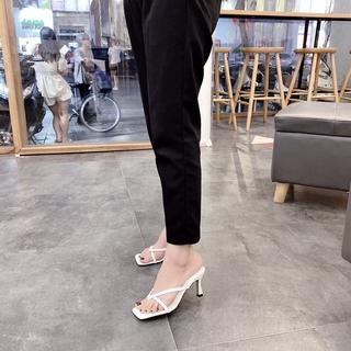 Cao gót nữ đẹp, dép thời trang nữ cao cấp cao 5p êm chân mã T182