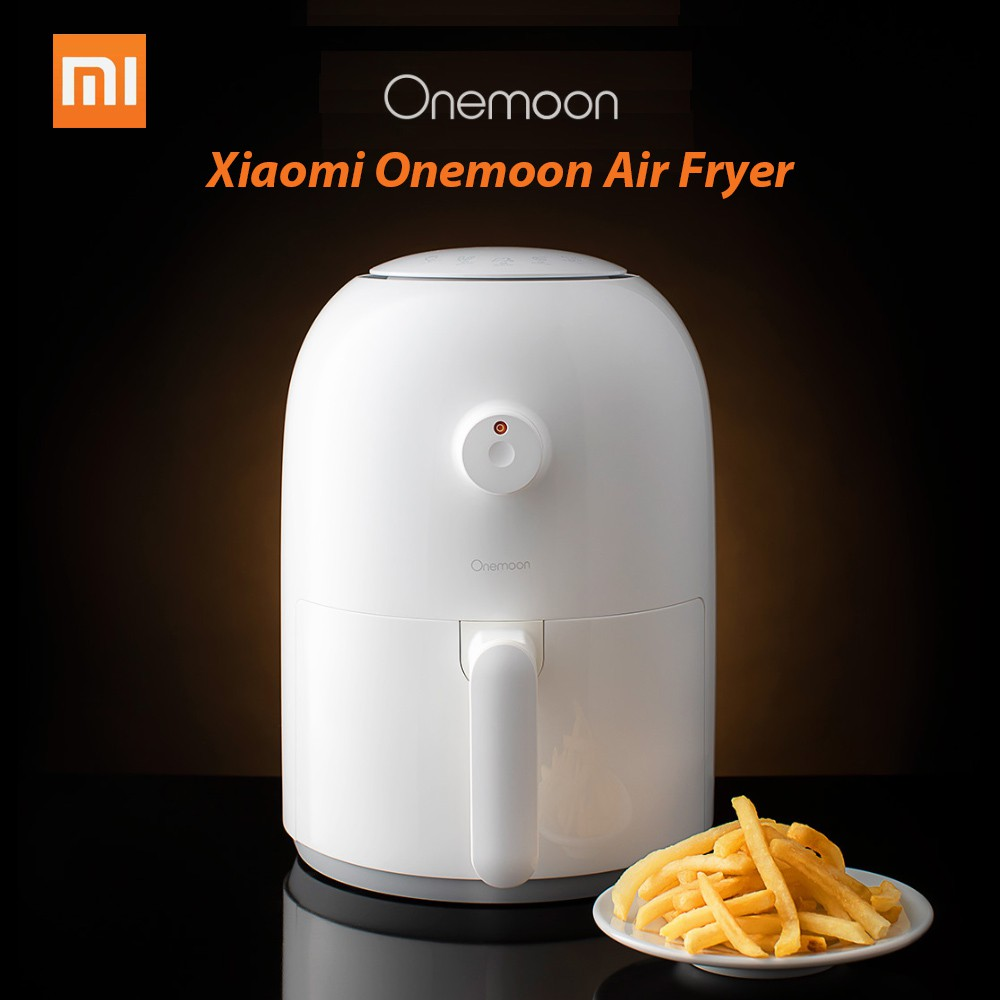 Xiaomi Mijia Onemoon Air Fryer Household Electric Fryer French Fries Machine Kitchen Appliances Intelligent No Fumes Hig