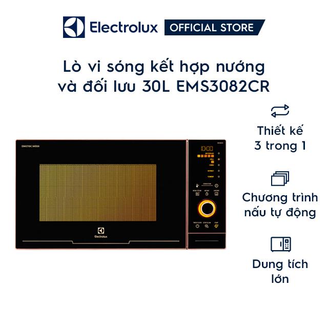 Lò vi sóng điện tử nướng đối lưu 30L Electrolux EMS3
