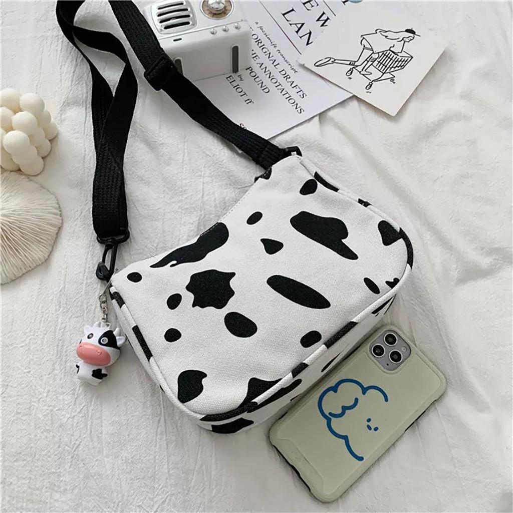 Túi tote vải canvas nữ đẹp đeo chéo đựng đồ đi học cute dễ thương giá rẻ TV03