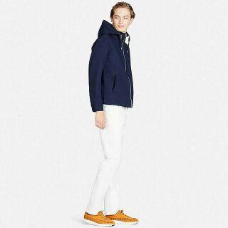Áo khoác Khaki Nhật Cotton Full Zip Parka thumbnail