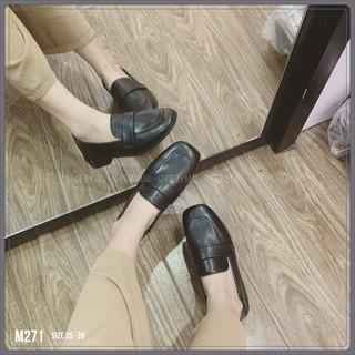 Giày búp bê chất da đẹp M271 SHOEBYMAI