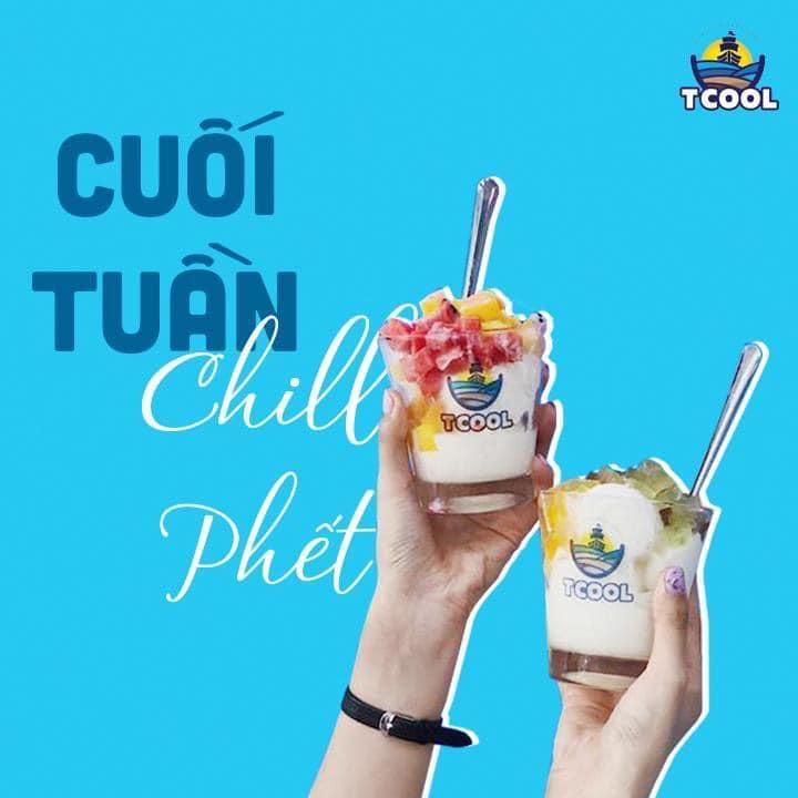 Sữa Chua Tcool - evoucher giảm giá 15% cho toàn bộ menu - ko