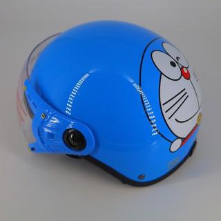 Mũ bảo hiểm trẻ em có kính Doremom thumbnail
