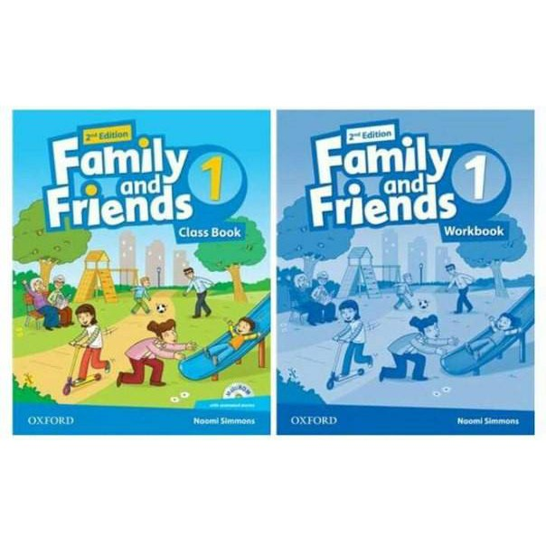 Sách - Trọn bộ Family and Friends 1 second edition