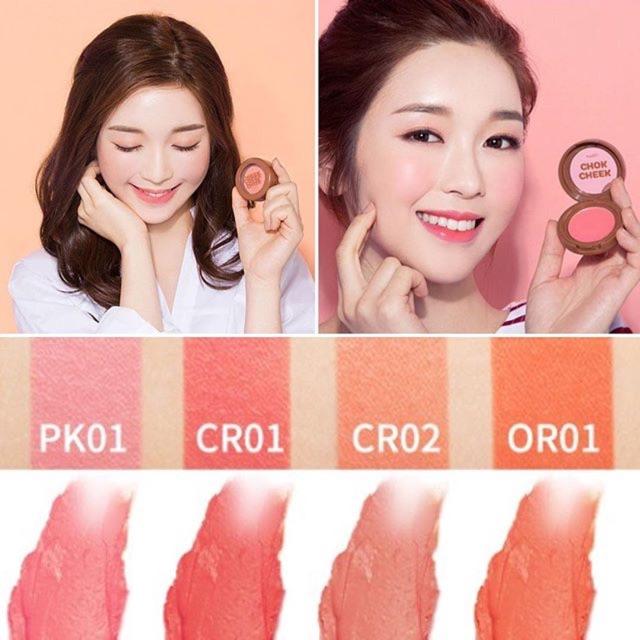 Má hồng dạng kem Apieu Cheek Chok
