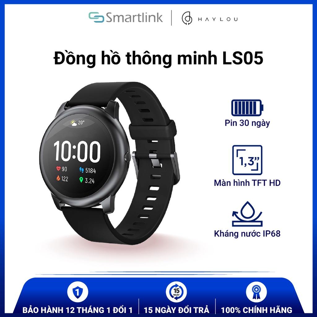 Đồng hồ thông minh Xiaomi Haylou Smart Watch LS05 (bản quốc tê) Hàng Chính Hãng - SmartLink Bảo Hành 12 Tháng 1 đổi 1