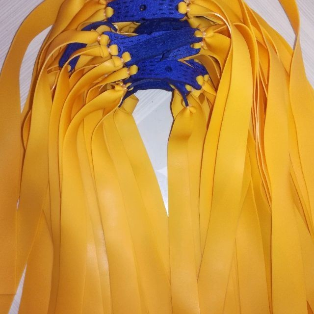 Thun ná cao su hiệu Precise chính hãng dày 0.75mm màu vàng 1 dây