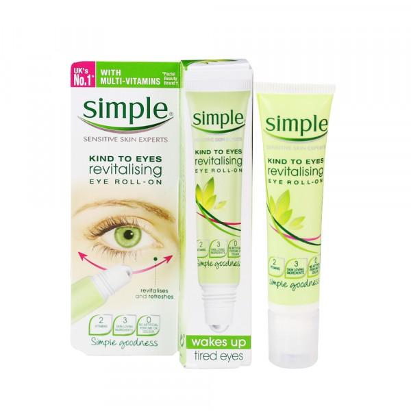 Lăn Dưỡng Mắt Simple Kind To Eyes Revitalising Eye Roll-On (Bestseller) - 3606361 , 1184286794 , 322_1184286794 , 180000 , Lan-Duong-Mat-Simple-Kind-To-Eyes-Revitalising-Eye-Roll-On-Bestseller-322_1184286794 , shopee.vn , Lăn Dưỡng Mắt Simple Kind To Eyes Revitalising Eye Roll-On (Bestseller)