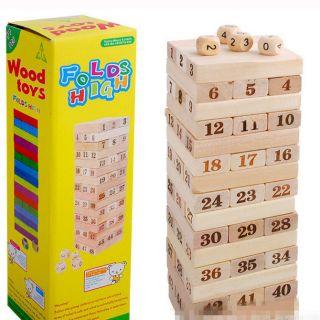 Đồ chơi rút gỗ size lớn