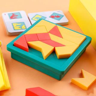 ThinkFun Shape by Shape Creative Pattern Logic Game F – Learn Logical Reasoning Skills Through Fun Gameplay