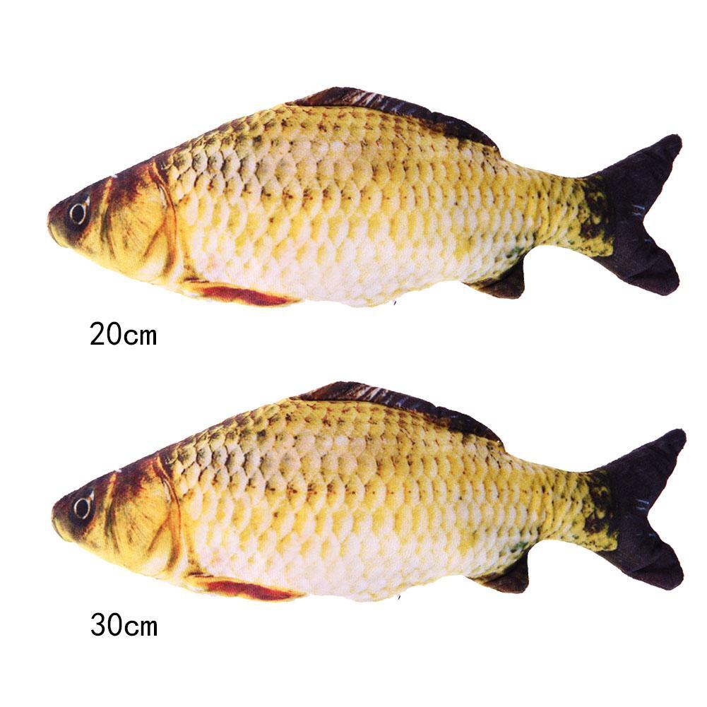 [High] Cat Favor Fish Toy Stuffed Fish Cat Scratch Board Scratching Post