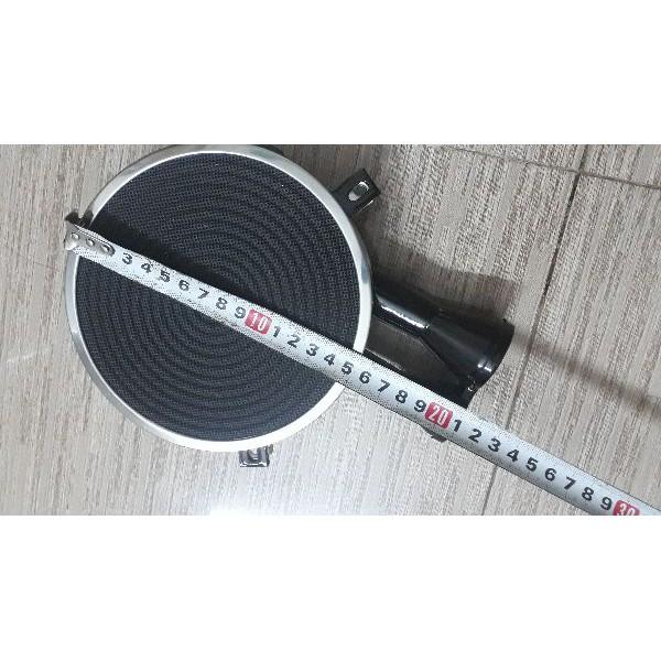 Họng Gốm Hồng Ngoại Đường Kính 15,5cm (Thay Thế Bếp Gas Dương Hồng Ngoại)