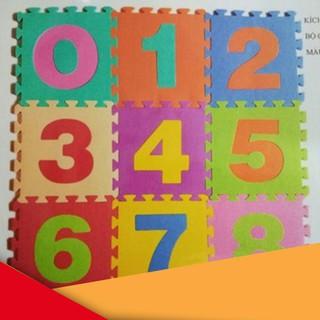 [GIÁ RẺ VÔ ĐỊCH] Thảm Xốp Cho Bé Ghép Hình (Miếng 30X30Cm)(Màu Sắc Ngẫu Nhiên) BMBE1212
