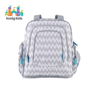 Ba lô đựng đồ cho mẹ và bé, Túi Đựng Tã Lót Đa Năng Chống Thấm Nước giữ nhiệt - có ngăn đựng laptop Konig Kids - 201807 thumbnail