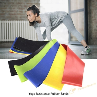 Set 5 Dây Cao Su Co Giãn Tập Yoga 0.35mm-1.1mm