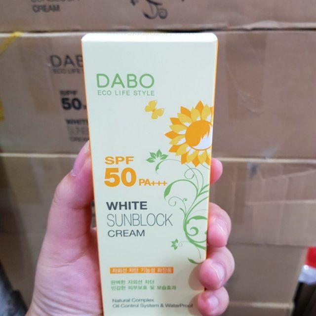Kem chống nắng DABO White Sunblock Cream SPF 50 PA+++ - 9926418 , 992950713 , 322_992950713 , 80000 , Kem-chong-nang-DABO-White-Sunblock-Cream-SPF-50-PA-322_992950713 , shopee.vn , Kem chống nắng DABO White Sunblock Cream SPF 50 PA+++