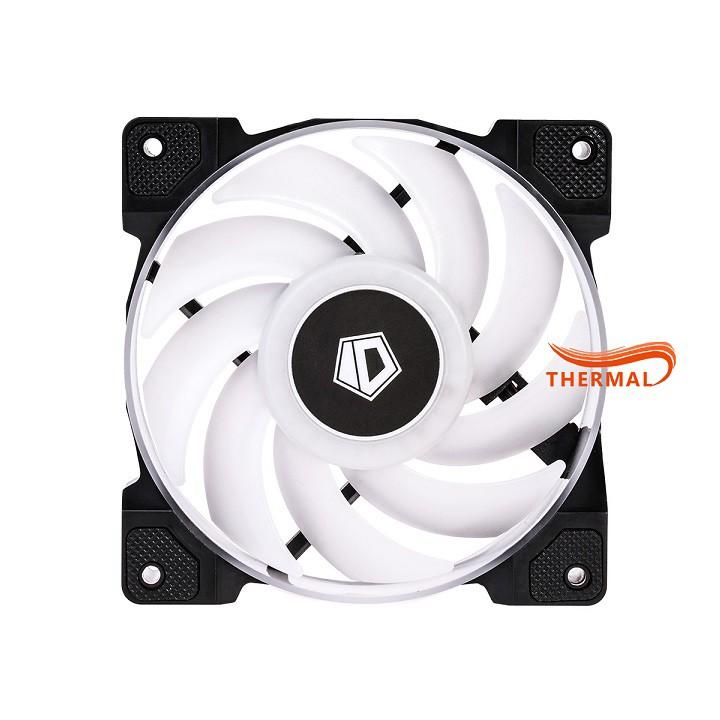 Quạt Fan Case ARGB ID-Cooling DF-12025 ARGB - Hiệu ứng Addressable RGB, Quạt quay 2000 vòng sức gió tốt