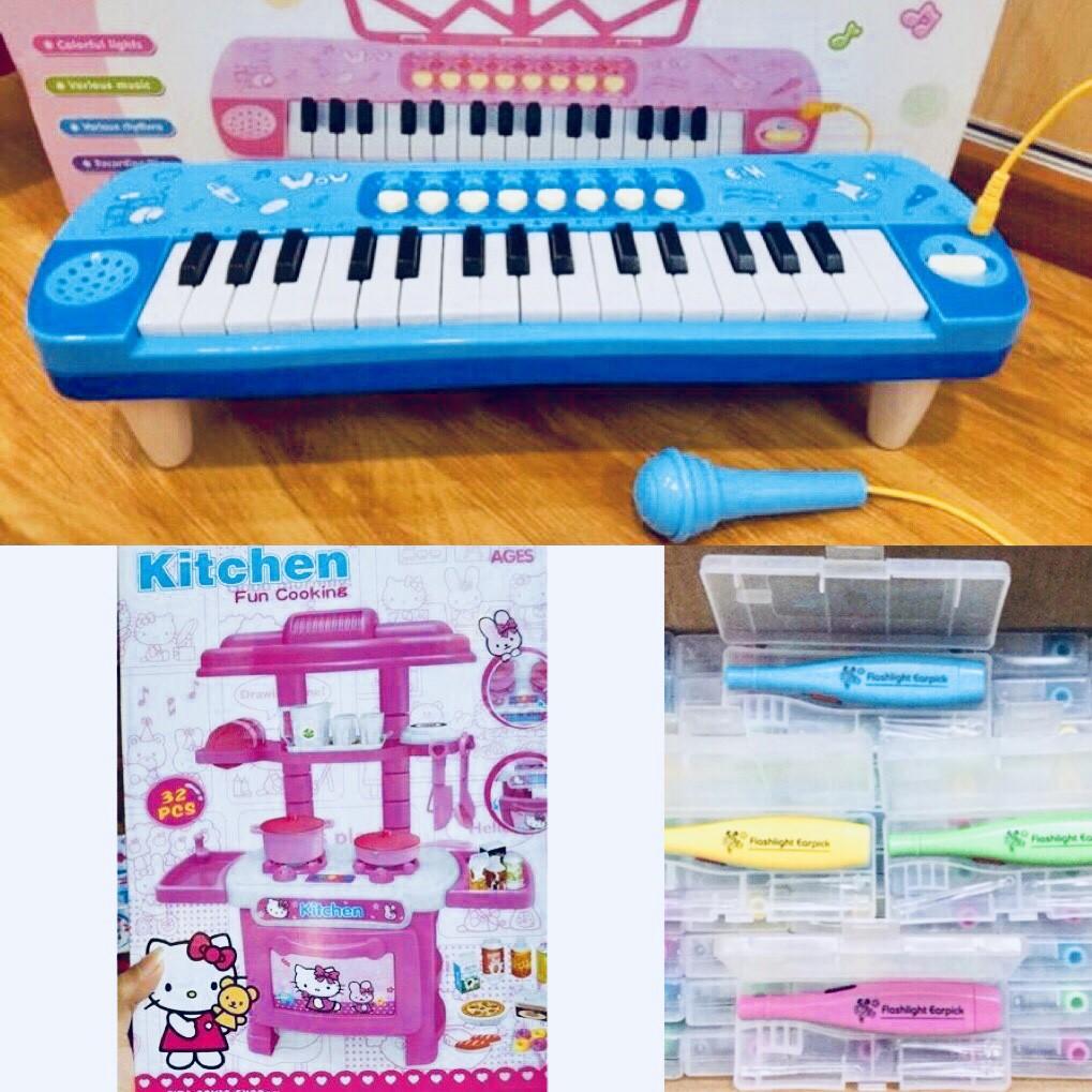 Freeship: Combo đàn organ có mic và bếp kitty loại trung (tặng đèn soi tai cho bé) - 2706456 , 1108125057 , 322_1108125057 , 350000 , Freeship-Combo-dan-organ-co-mic-va-bep-kitty-loai-trung-tang-den-soi-tai-cho-be-322_1108125057 , shopee.vn , Freeship: Combo đàn organ có mic và bếp kitty loại trung (tặng đèn soi tai cho bé)