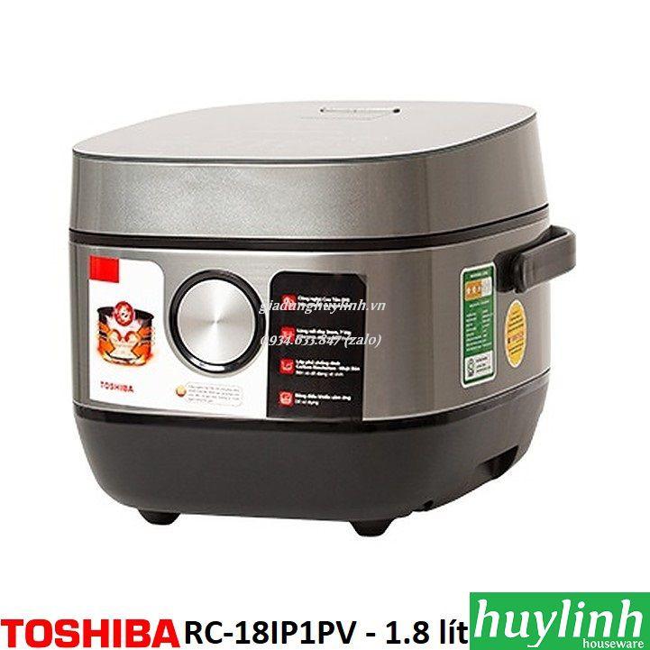 Nồi cơm điện tử cao tần Toshiba RC-18IP1PV – 1.8 lít