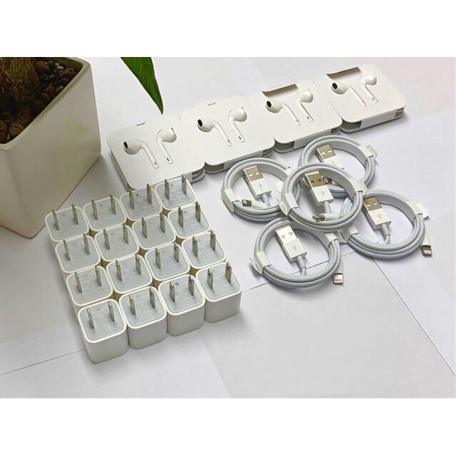 [ Chính Hãng APPLE ] Củ Sạc IPhone Vuông Zin Bóc Máy chuẩn Mỹ ⚡ ️BH 12 Tháng 1 Đổi 1