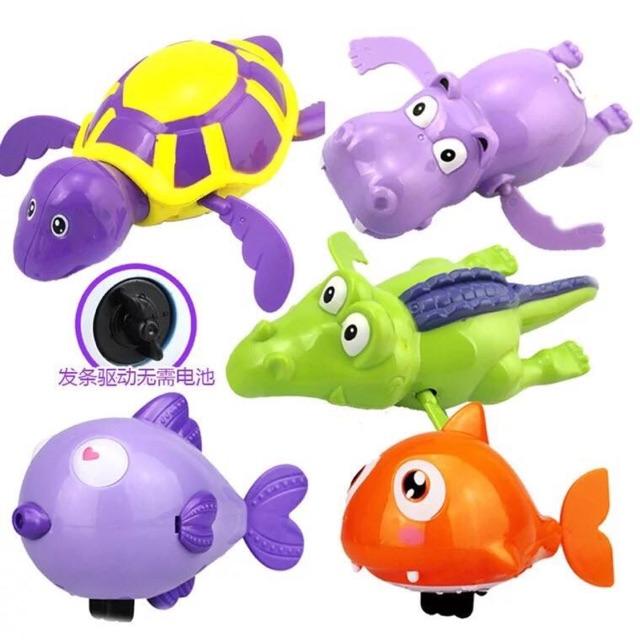 Set 5 đồ chơi động vật bơi dưới nước