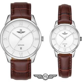 Đồng hồ Đôi SRWATCH Couple-F SR80050.4102CF mặt Sapphire Thiết Kế đơn giản, nhẹ nhàn thumbnail