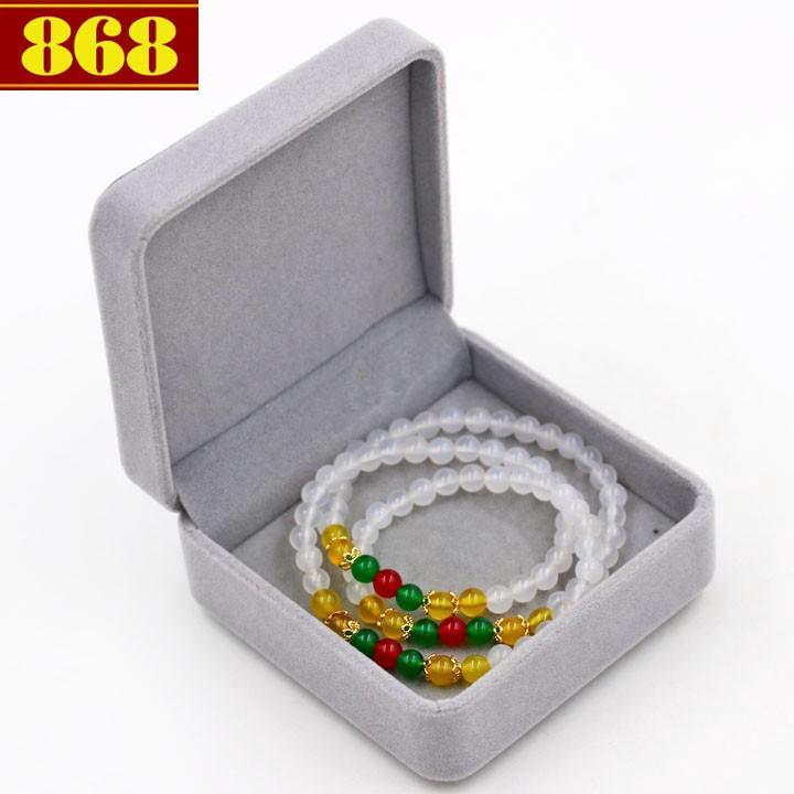 Vòng chuỗi quấn ba đá ngọc tủy trắng VDB3 kèm hộp nhung - 14405813 , 1329380457 , 322_1329380457 , 240000 , Vong-chuoi-quan-ba-da-ngoc-tuy-trang-VDB3-kem-hop-nhung-322_1329380457 , shopee.vn , Vòng chuỗi quấn ba đá ngọc tủy trắng VDB3 kèm hộp nhung