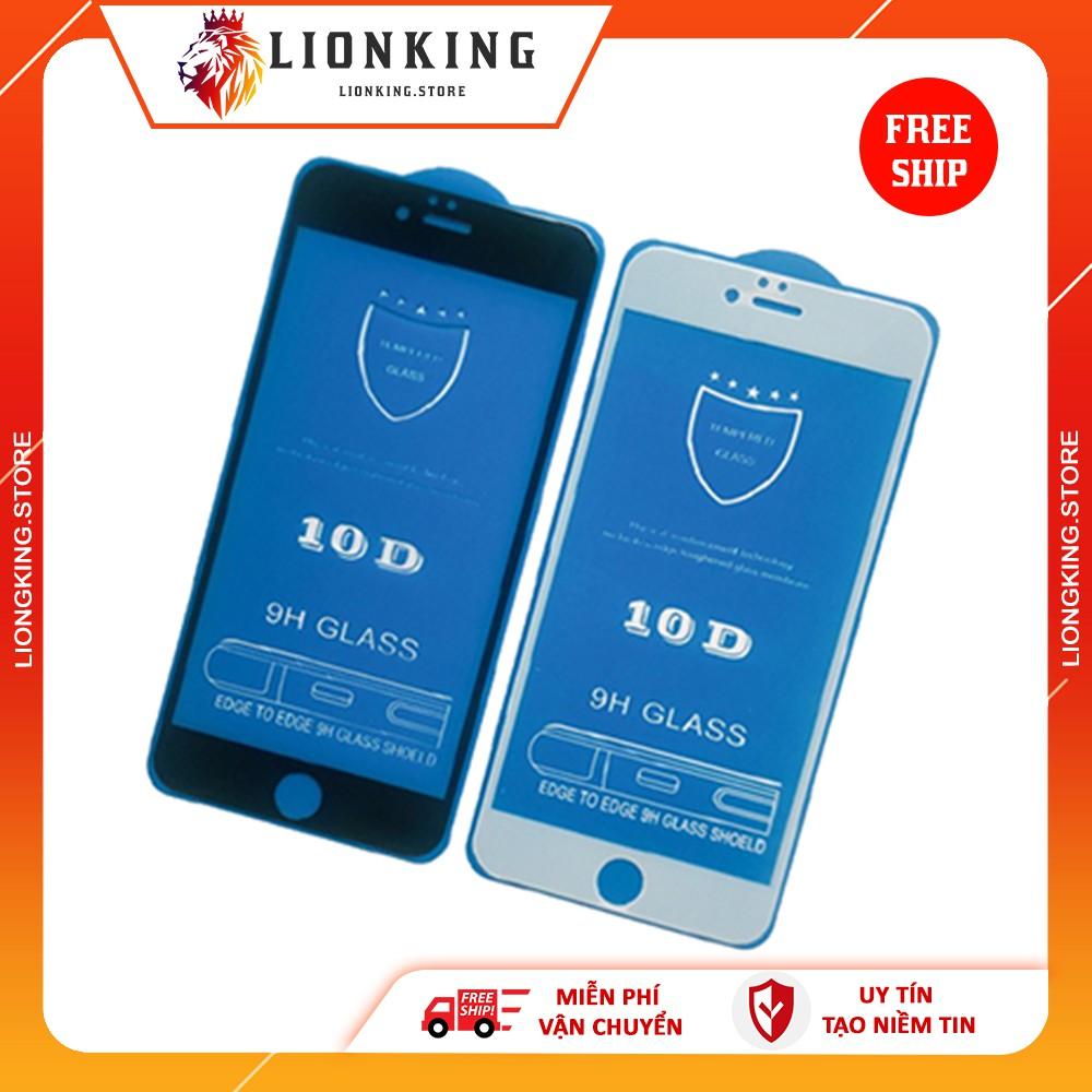 Kính cường lực iphone 10D 💝FREESHIP 💝 áp mã để được giảm 5%  👉 6/7/6Plus/7Plus/ X/XR/XsMax/11/11Pro/11ProMax