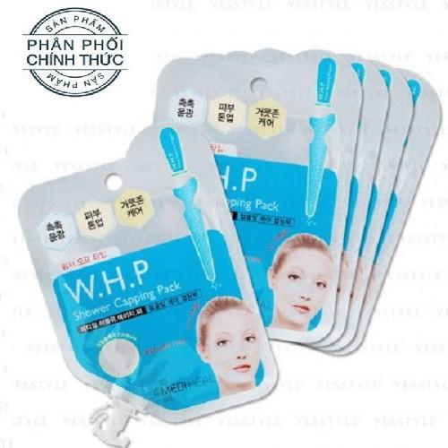 Bộ 5 gói Mặt Nạ Đất Sét Dưỡng Trắng Da Làm Sạch Sâu Mediheal W.H.P Shower Capping Pack 15ml x5