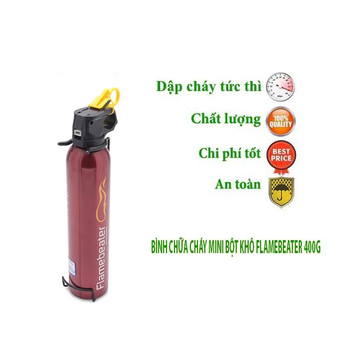 [SALE 10%] Bình chữa cháy mini cho xe hơi Flamebeater 400g