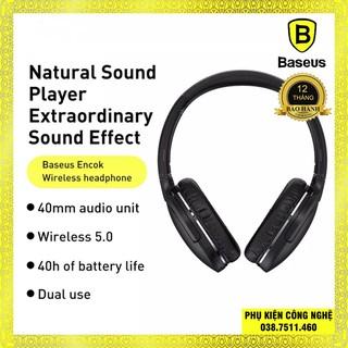 Tai nghe chụp tai bluetooth Baseus Encok D02 Pro