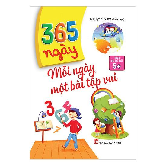 [ Sách ] 365 Ngày Mỗi Ngày Một Bài Tập Vui