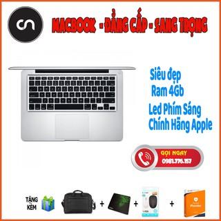 [Siêu đẹp + Siêu Sang] Macbook Pro Vỏ Nhôm mid 2010 8Gb Ram, SSD 128Gb , Logo+phím led Cực Đẹp Sang Chảnh