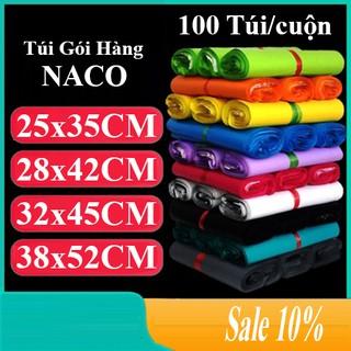 Túi Đóng Hàng Niêm Phong Sản Phẩm Chuyển Phát Nhanh – NACO – Size Nhiều Màu – C40