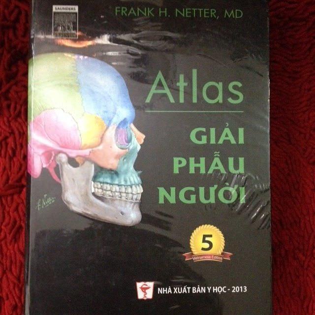 Sách atlas giải phẫu cơ thể người