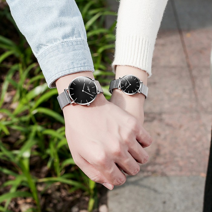 Đồng hồ Onlyou Nam 81161GB Dây Lưới 40mm