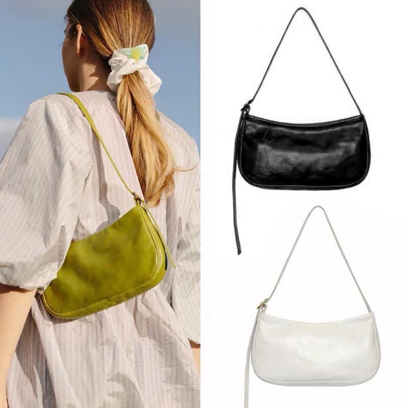 Túi đeo vai chất liệu da PU kiểu dáng thời trang cho nữ