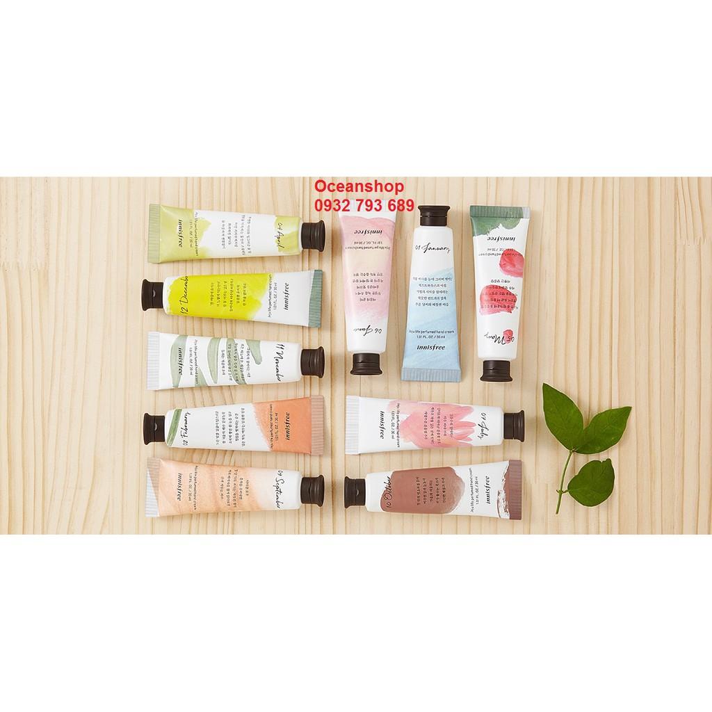 Kem dưỡng da tay Innisfree Jeju Life Perfumed Hand Cream về hàng SALE (Bill mua ảnh bên cạnh)