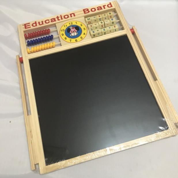 [GIÁ SỈ] [Mã TOYDEC giảm 10% tối đa 15K đơn từ 50K] Bảng gỗ nam châm giáo dục 2 mặt...