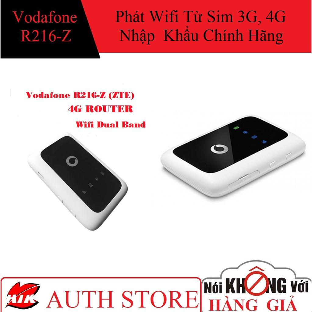 Thiết bị phát wifi từ sim 3G-4G ZTE R216-Z (Hàng Nhập Khẩu)