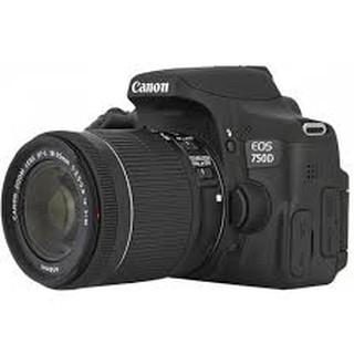 Máy ảnh Canon 750D like new 99%