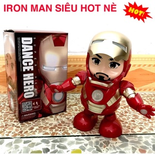 Robot Iron Man Nhảy Múa Người sắt robot biết nhảy có đèn