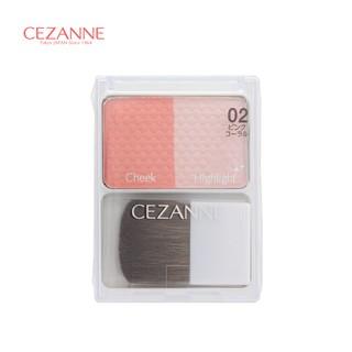 Phấn má Cezanne Cheek & Highlight - 4gr thumbnail